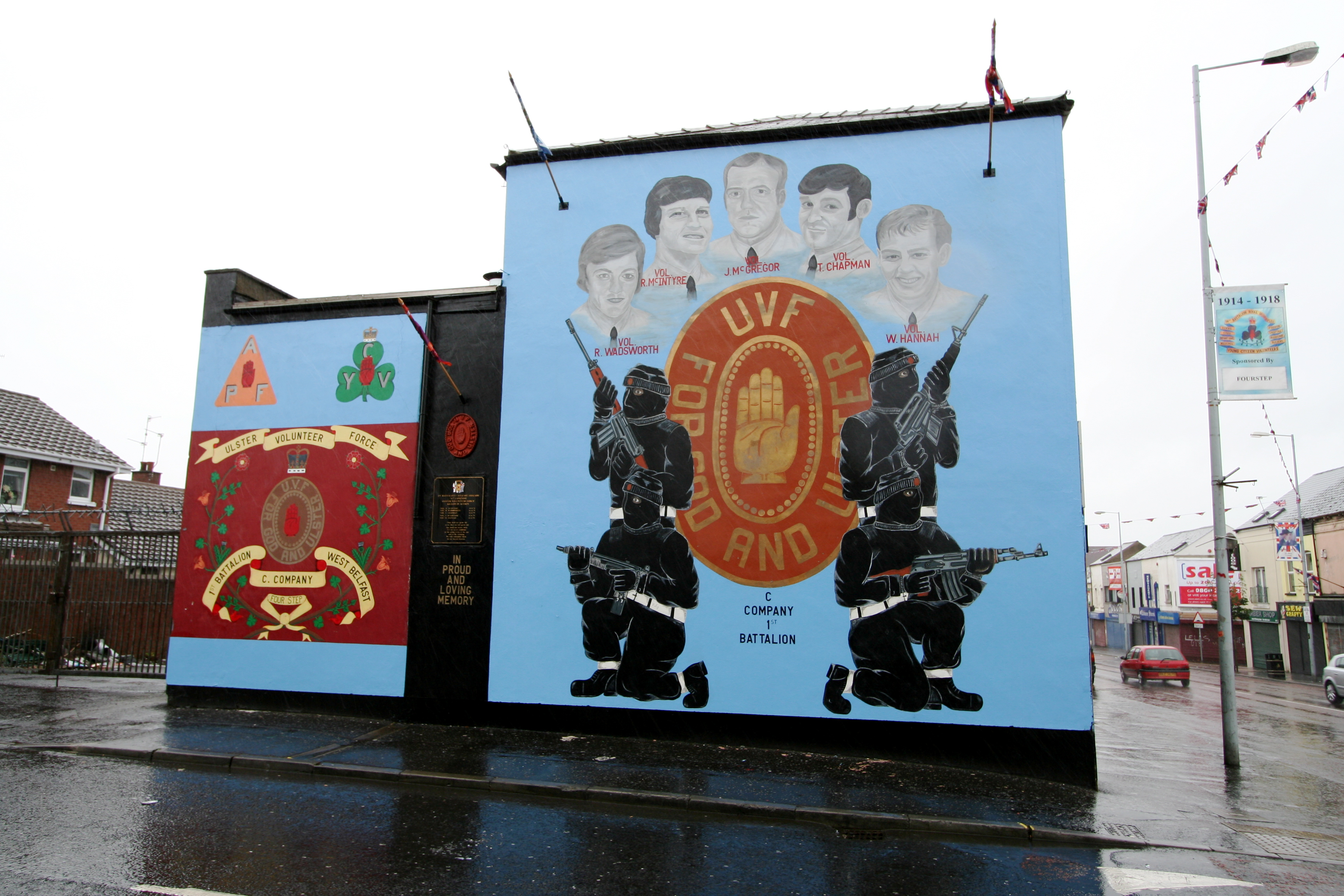 301 moved permanently for Belfast mural tours